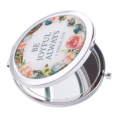 Mirror Compact Be Joyful by Christian Art Gifts