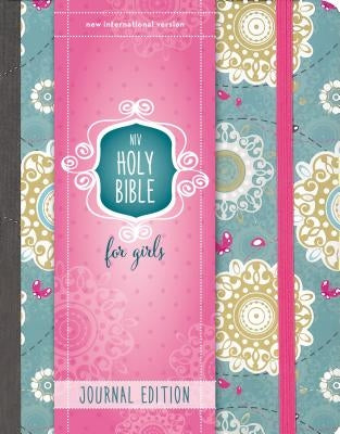 NIV, Holy Bible for Girls, Journal Edition, Hardcover, Teal/Gold, Elastic Closure by Zondervan