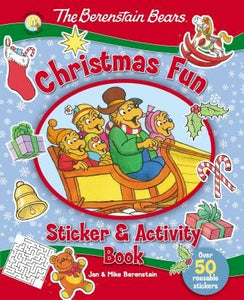The Berenstain Bears Christmas Fun Sticker and Activity Book by Berenstain, Jan
