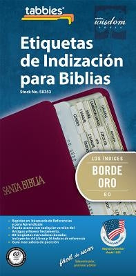 Spa-Spanish Gold-Edged Bible I: Spanish Classic Gold-Edged Bible Tabs by Tabbies