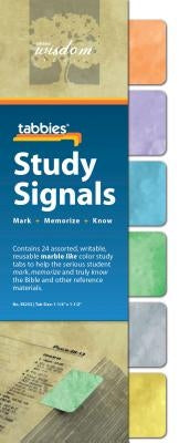 Tabbies Study Signals - Marble: Study Signals Marble Like by Tabbies