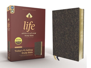 Niv, Life Application Study Bible, Third Edition, Bonded Leather, Navy, Red Letter Edition by Zondervan