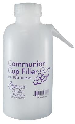 Swanson Communion Cup Filler Bottle 16oz by Swanson Christian Products