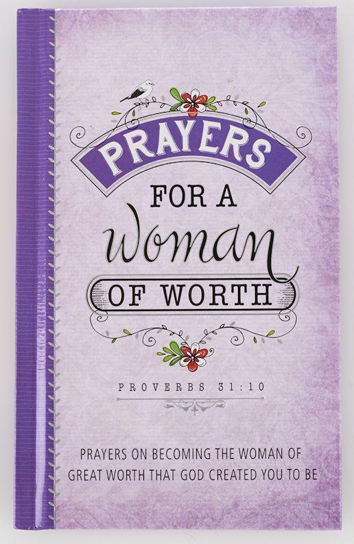 Prayers for a Woman of Worth Book
