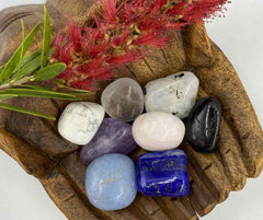 Creating a crystal sleep pouch for children