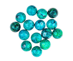 Chrysocolla Crystal Meaning Card and Affirmation for Chrysocolla