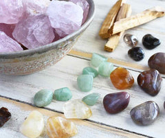 Creating a Relaxing Crystal Bath