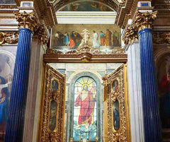 St Isaac's Cathedral in Saint Petersburg, Russia