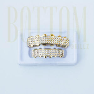 14k Iced Out Grillz