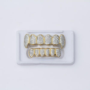 Fake Vampire Grillz With CZ