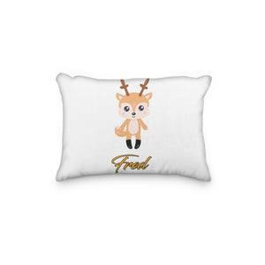 Deer Standing Personalized Pillowcase - incandescently