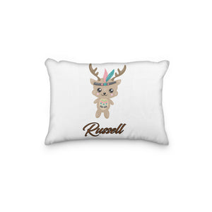 Deer Tribal Personalized Pillowcase - Incandescently