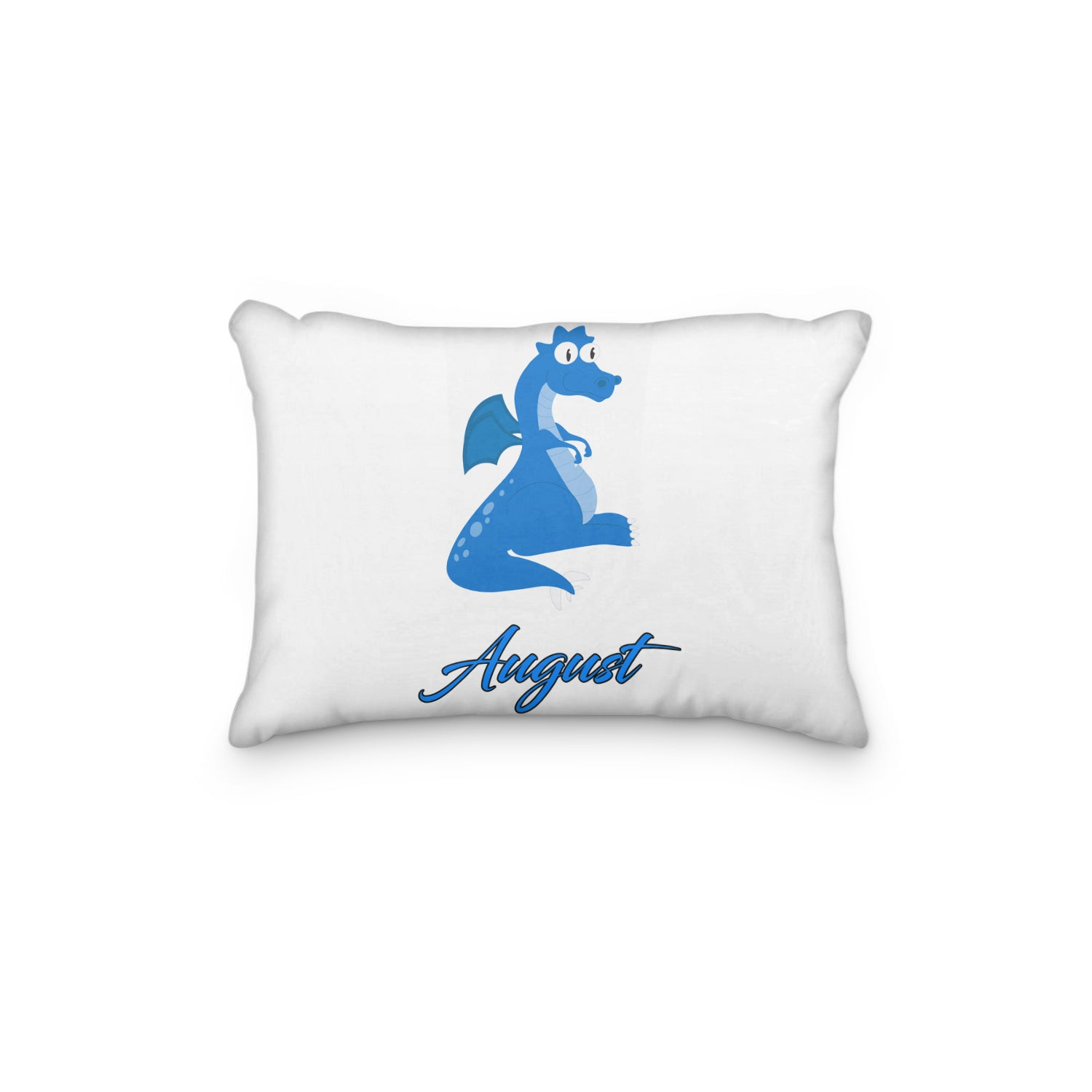 Dragon Blue Personalized Pillowcase - Incandescently