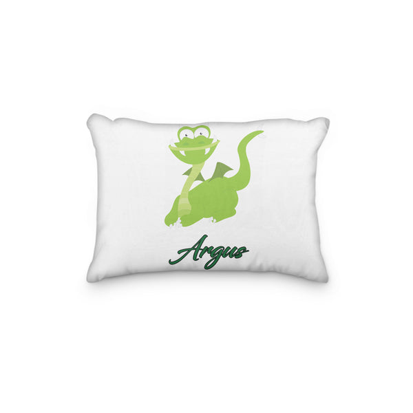 Dragon Green Personalized Pillowcase - Incandescently - Glitter Sparkle Throw Pillows - Farmhouse Decor