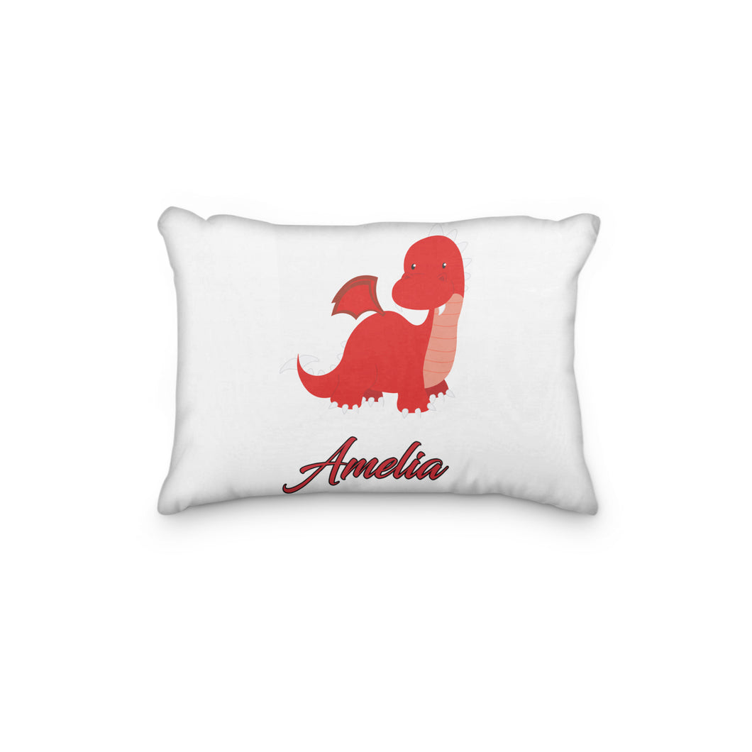 Dragon Red Personalized Pillowcase - incandescently