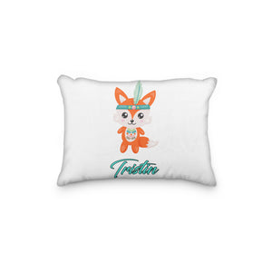 Fox Tribal Personalized Pillowcase - Incandescently