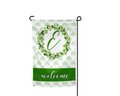 Irish Wreath Garden Flag