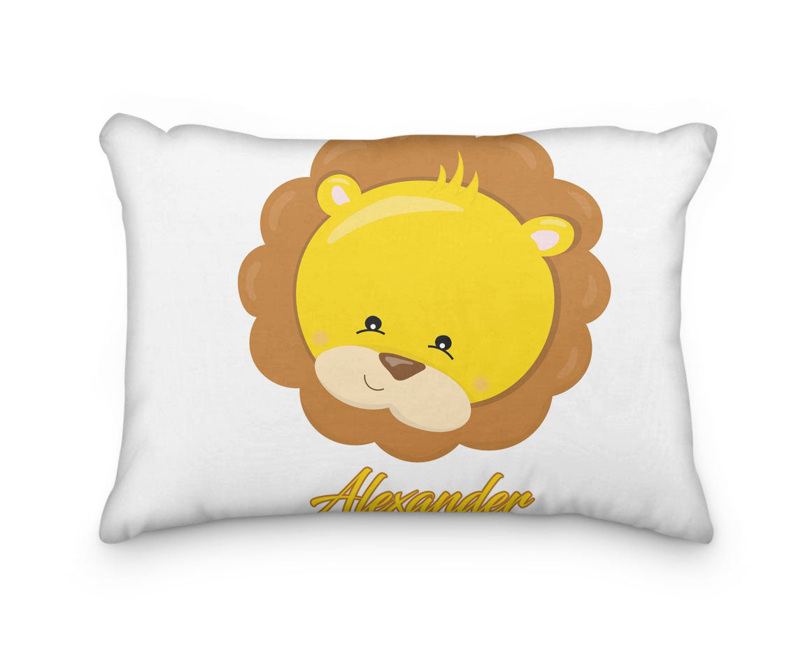 Lion Head Personalized Pillowcase - Incandescently