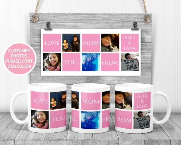 I Love You Personalized Mother's Day Mug - Incandescently