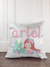 Personalized Mermaid Unicorn Pillow Cover