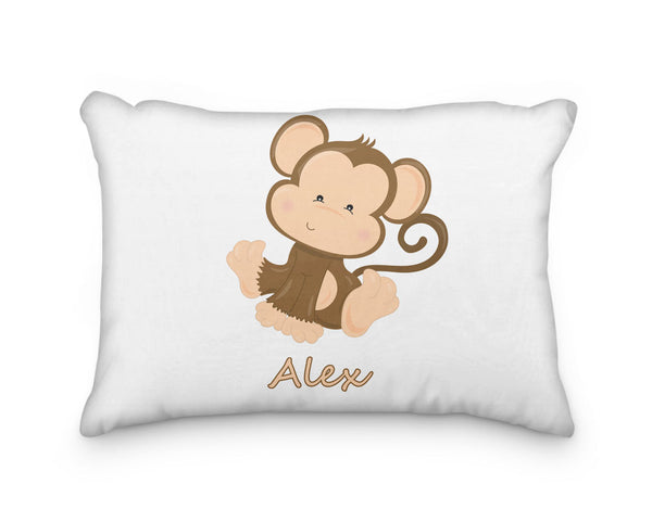 Monkey Body Personalized Pillowcase - Incandescently