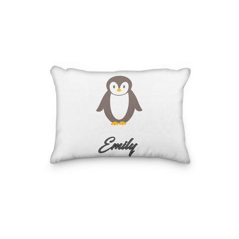 Penguin Personalized Pillowcase - Incandescently