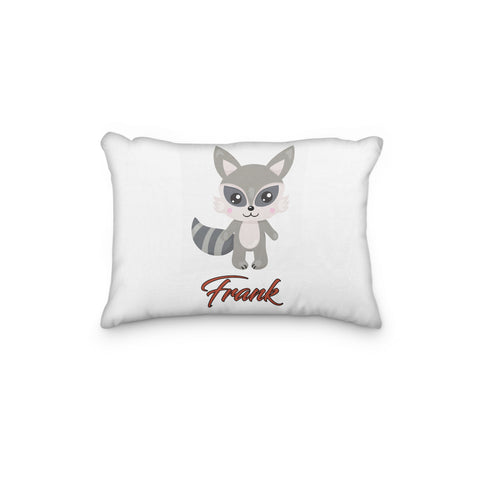 Raccoon Personalized Pillowcase - Incandescently