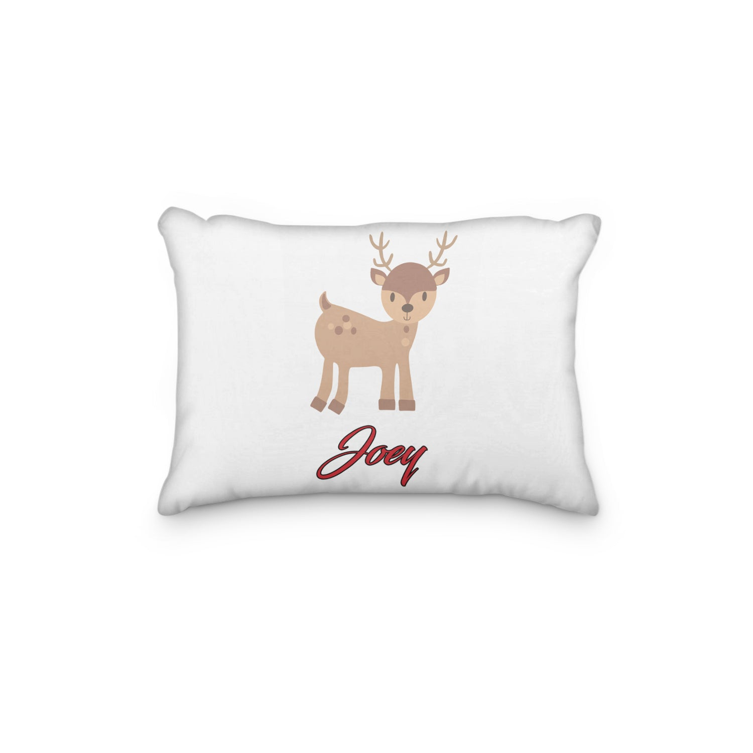 Reindeer Standing Personalized Pillowcase - Incandescently