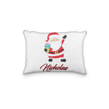 Load image into Gallery viewer, Santa Christmas Version 2 Personalized Pillowcase - incandescently
