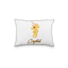 Load image into Gallery viewer, Seahorse Personalized Pillowcase - incandescently