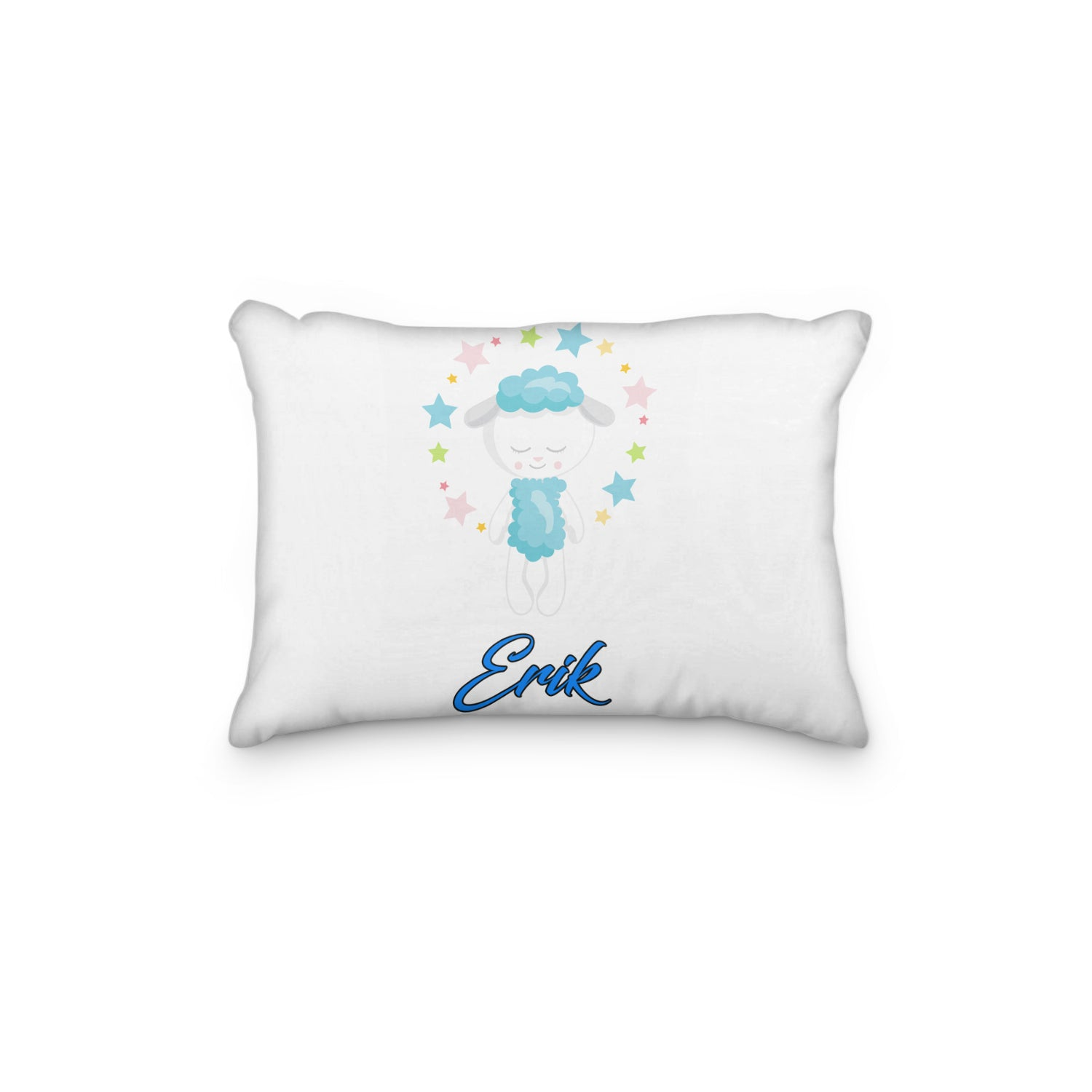 Sheep Dreamy Bedtime Personalized Pillowcase - Incandescently