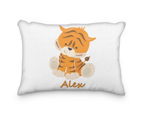 Tiger Body Personalized Pillowcase - incandescently