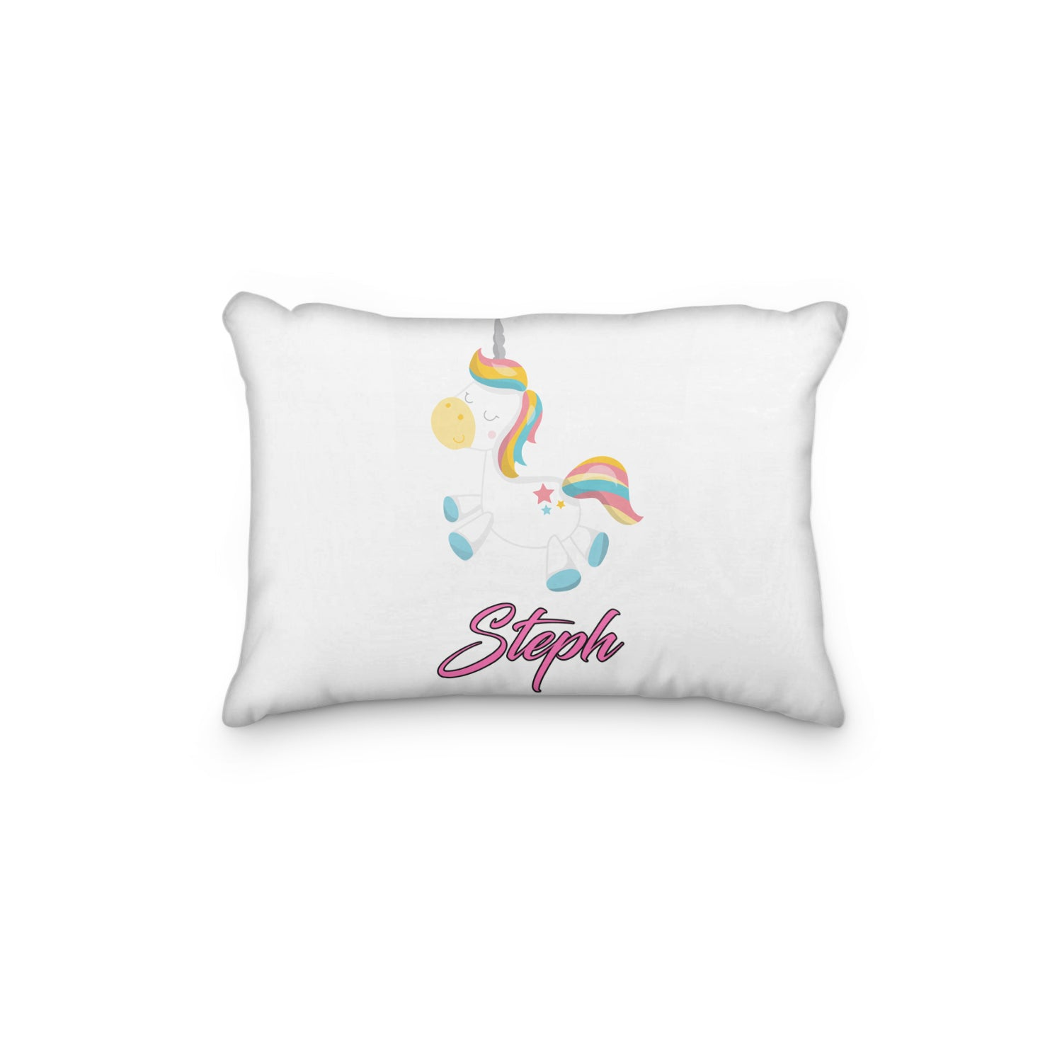 Unicorn Dreamy Bedtime Personalized Pillowcase - Incandescently