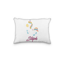 Load image into Gallery viewer, Unicorn Dreamy Bedtime Personalized Pillowcase - incandescently