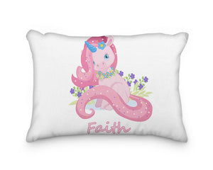 Unicorn Laying Down Personalized Pillowcase - incandescently