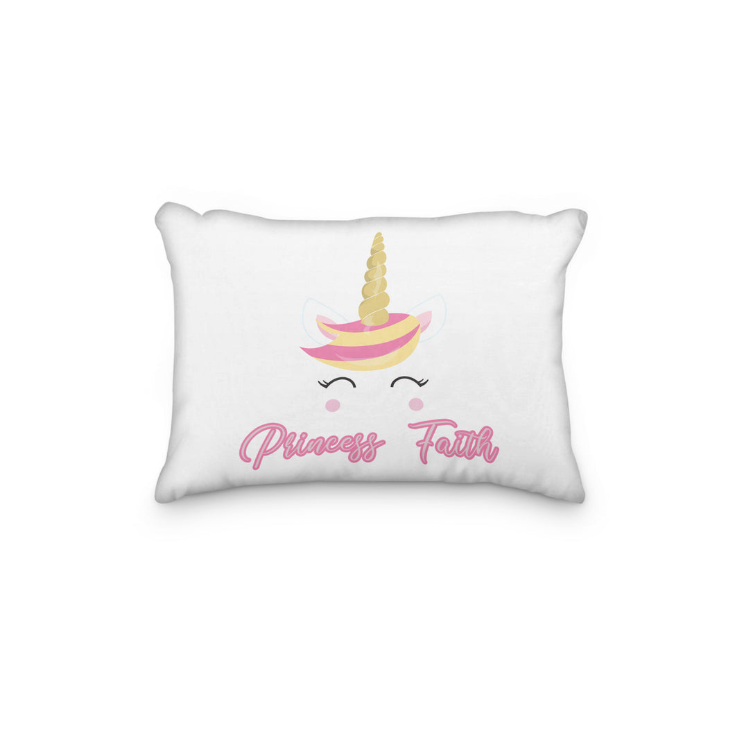 Unicorn Cute Personalized Pillowcase - Incandescently