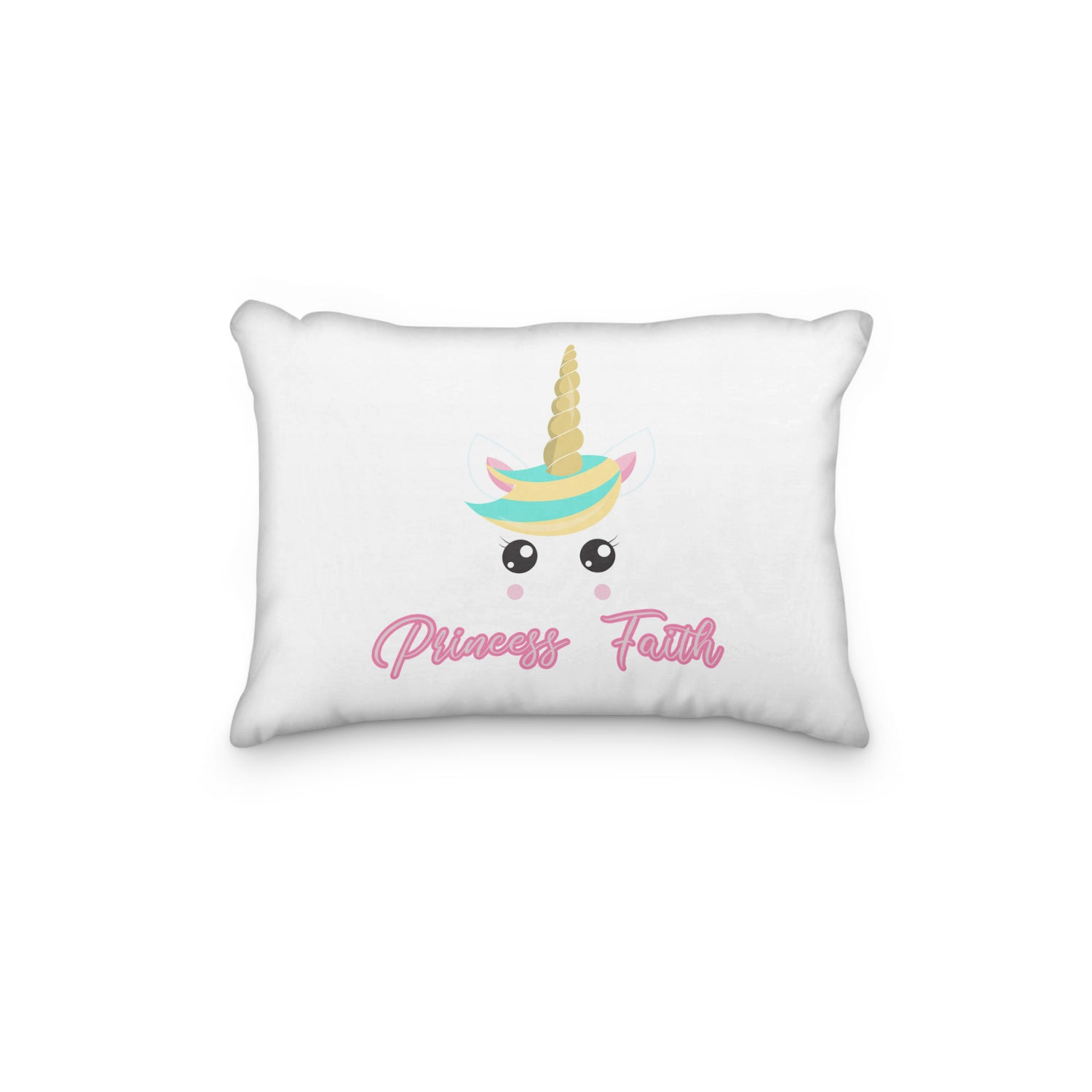 Unicorn Sweet Personalized Pillowcase - Incandescently