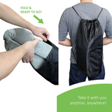 Bael Wellness Sciatica, Coccyx & Tailbone Support Seat Cushion (Pack of 2)