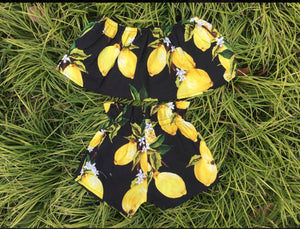 GIRLS LEMONADE SET-BLACK