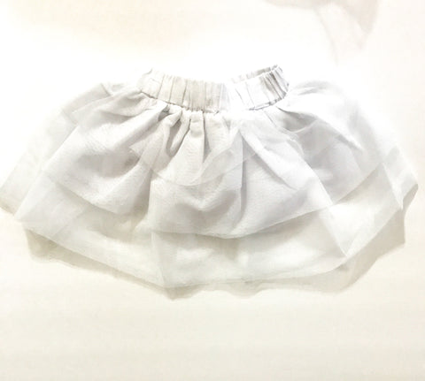 Girls White Tutu