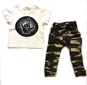 Boys 2-Piece Camo Set