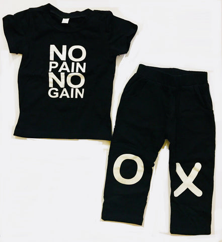 Boys 2-Piece No Pain Set