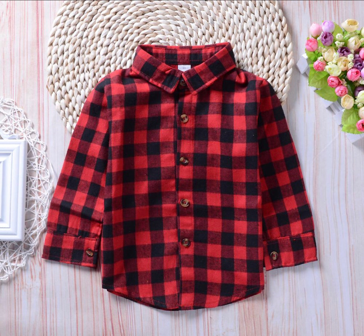 Unisex Mom Flannel