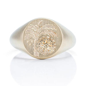 Custom Signet Ring - Charles Koll Jewellers
