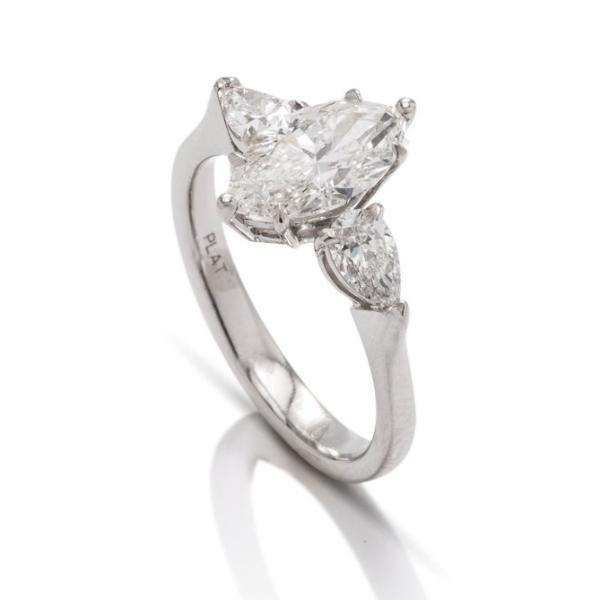 Not Your Average Three Stone Engagement Ring - Charles Koll Jewellers
