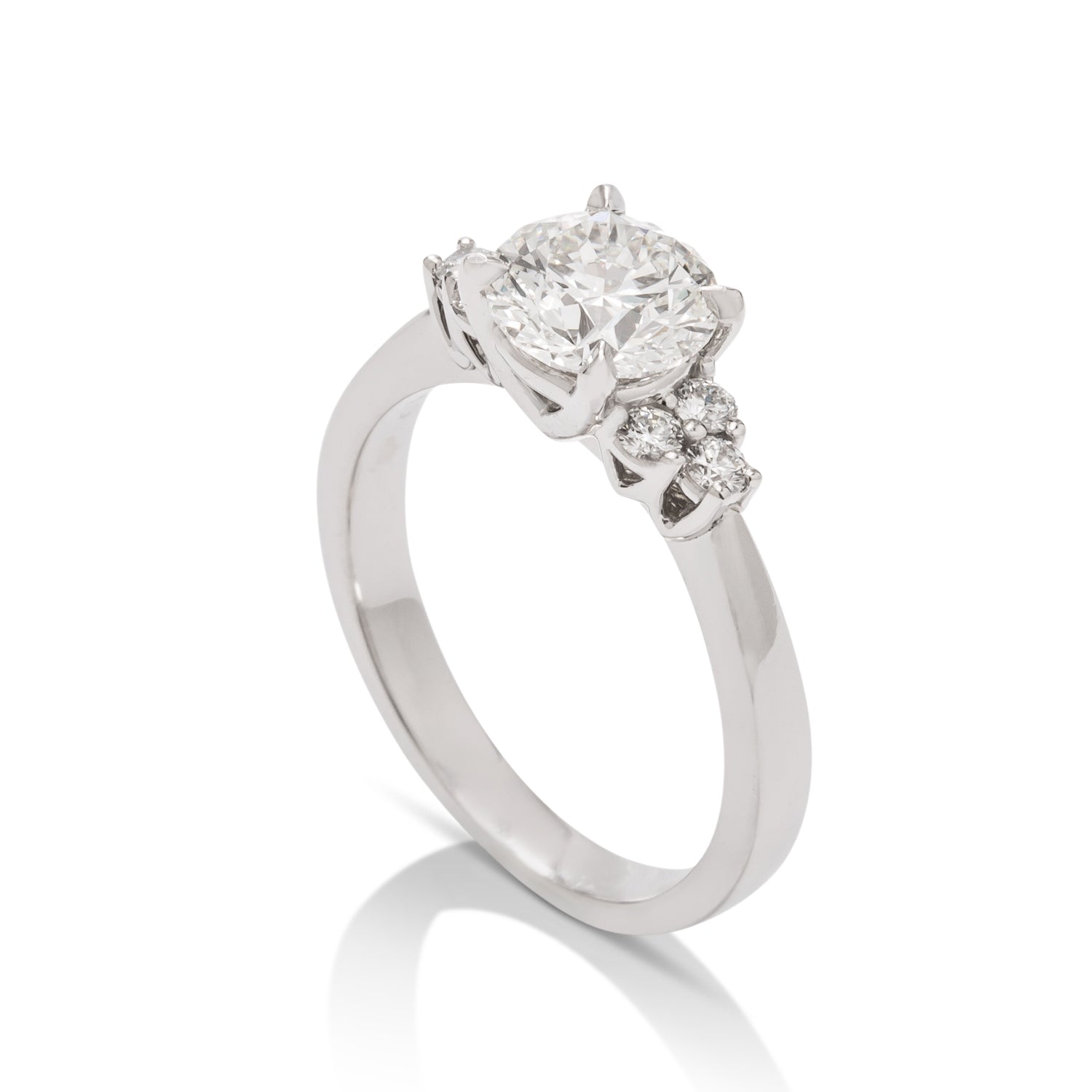 Hearts On Fire Grandeur Engagement Ring - Charles Koll Jewellers