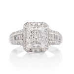 2.02 Carat White Gold Diamond Engagement Ring