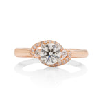 18k Rose Gold Diamond Ring HOF - Charles Koll Jewellers