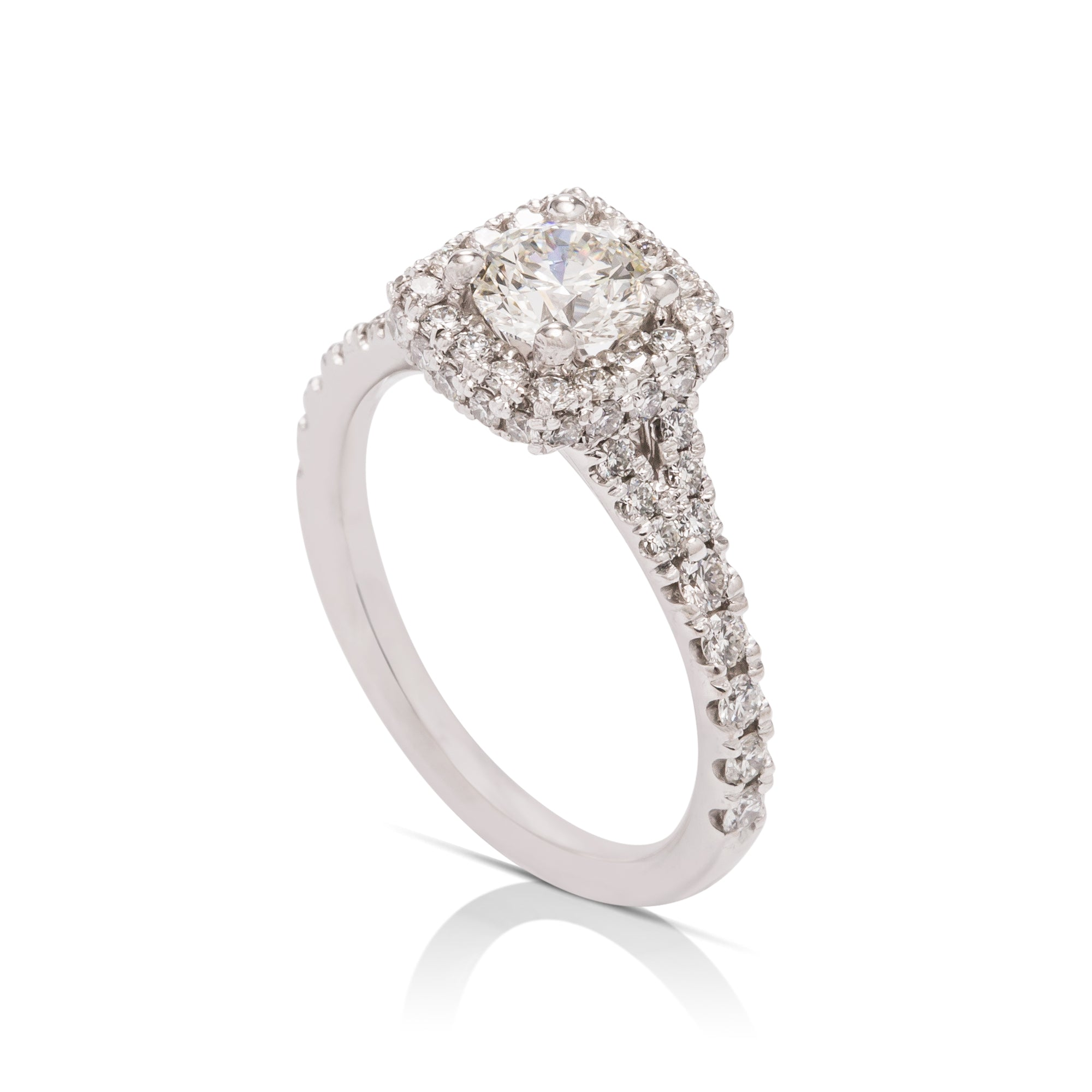 Hearts On Fire Acclaim Engagement Ring - Charles Koll Jewellers