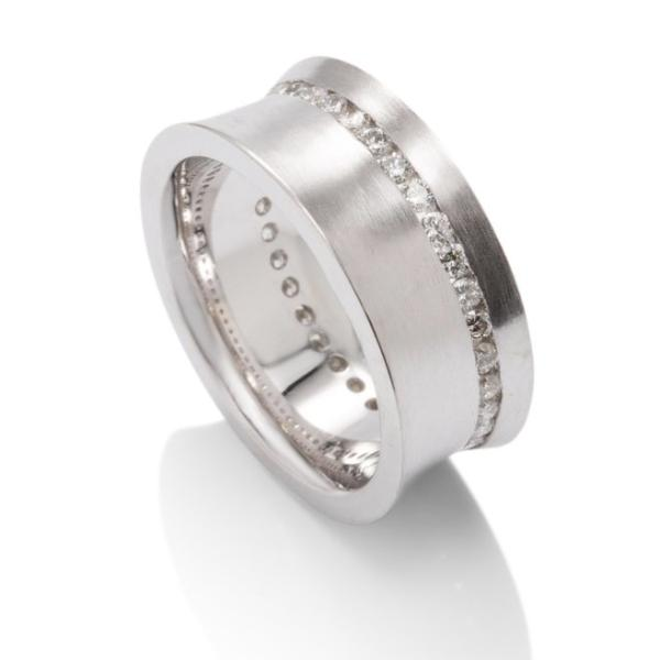 Women's Diamond Eternity band - Charles Koll Jewellers